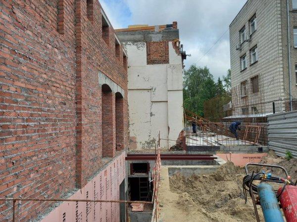 Реконструкция новосибирского театра Афанасьева идет по графику