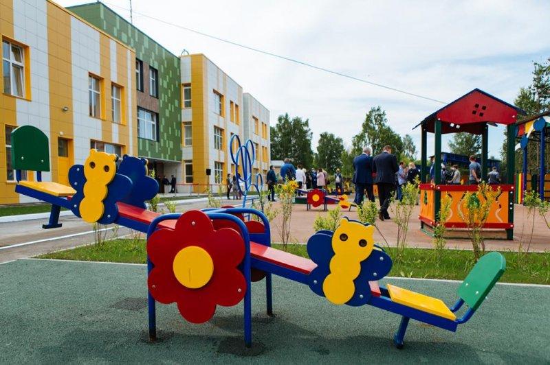 Новый детский садик в «Стрижах»  ликвидирует очередь во всём микрорайоне