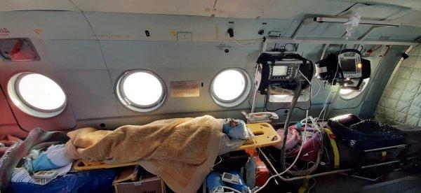 Семья из Карасука, пострадавшая на пожаре, в тяжелом состоянии на аппаратах ИВЛ