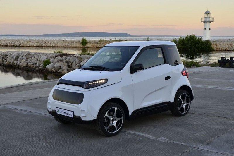 Российский электромобиль Zetta уже можно посмотреть изнутри