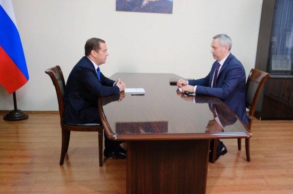 Андрей Травников рассказал премьер-министру о развитии села