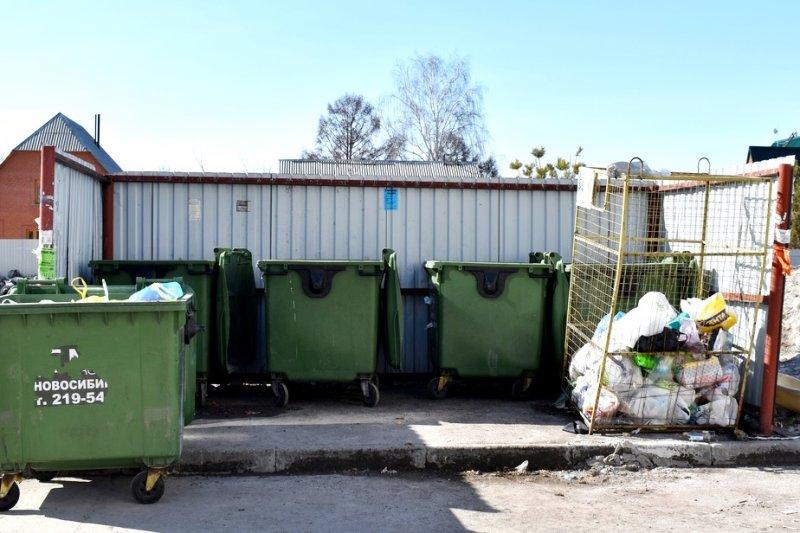 Раздельный сбор мусора по заявкам вводят в новосибирских дворах