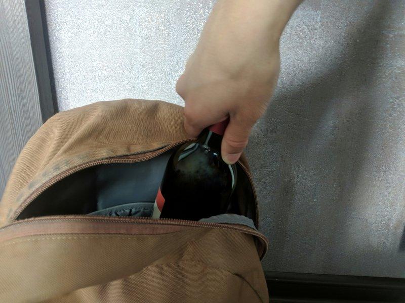 Почти два года строгого режима дали новосибирцу за кражу бутылки вина
