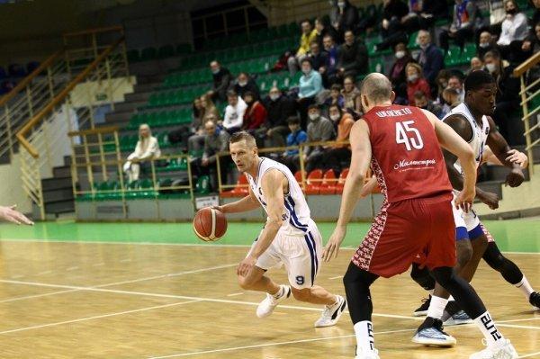 Баскетболисты «Новосибирска» одержали победу над московским МБА