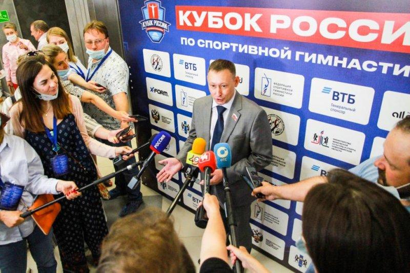 Звезды спортивной гимнастики съехались в Новосибирск на Кубок России