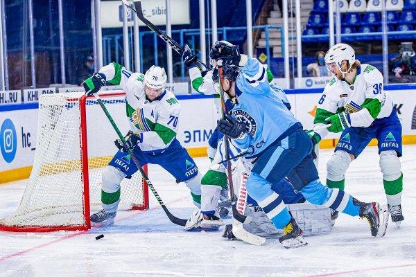 «Сибири» до победы над «Салаватом» не хватило пяти минут
