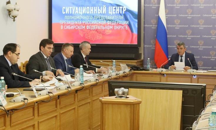 Полпред Меняйло заставляет мэра надеть на новосибирцев маски
