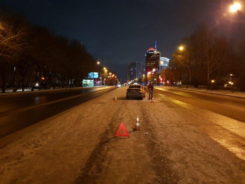 Перебегавший Немировича-Данченко пешеход сломал под колесами обе ноги