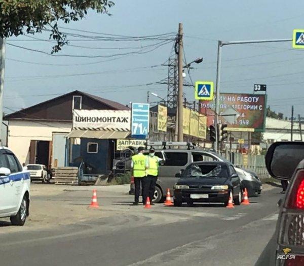 Новосибирские «чайники» убили двух человек на дороге