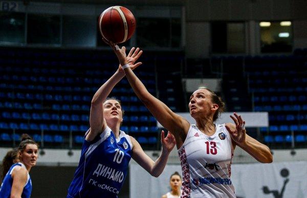 Баскетболистки «Динамо» крупно проиграли московскому МБА