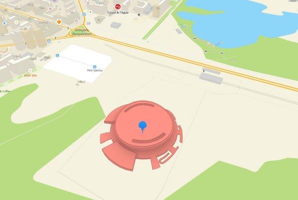 3D-модель новой ледовой арены появится на карте 2ГИС