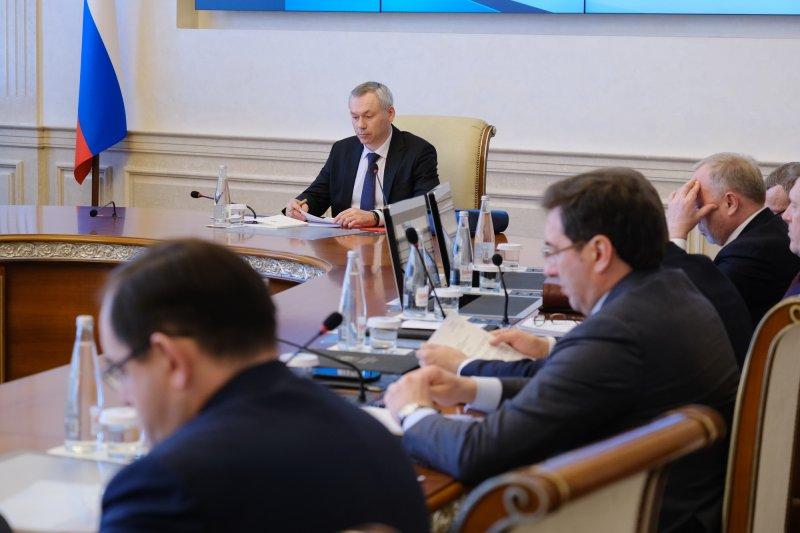 Губернатор Травников взял на особый контроль реализацию нацпроектов