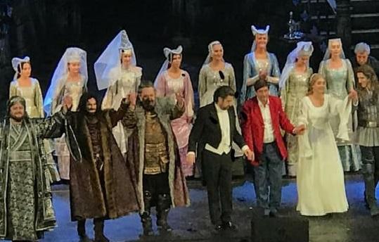 Открывшая 76-й театральный сезон после коронавируса «Иоланта» сорвала шквал оваций