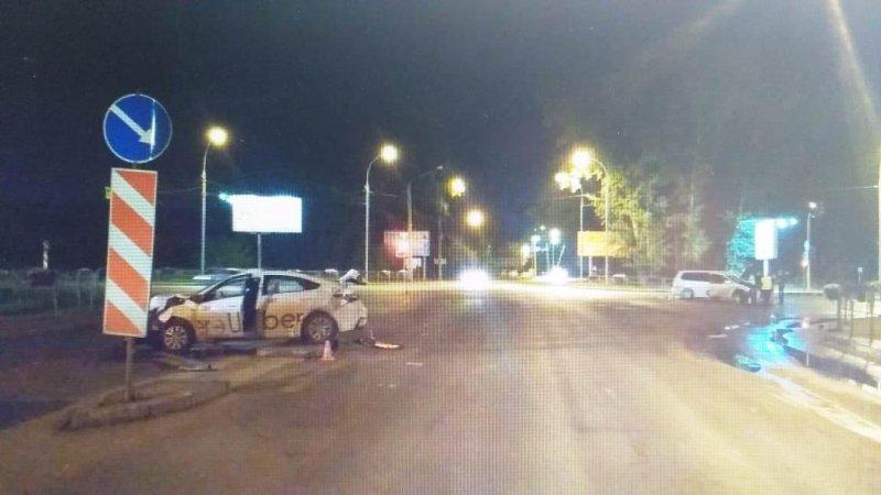 12-летний мальчик сломал нос в аварии на Советском шоссе