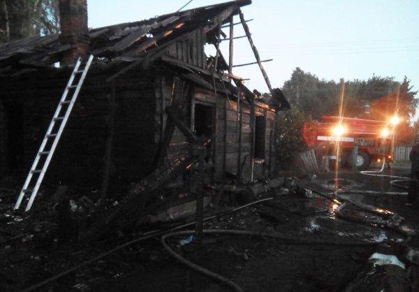 Трое детей погибли в ночном пожаре под Новосибирском