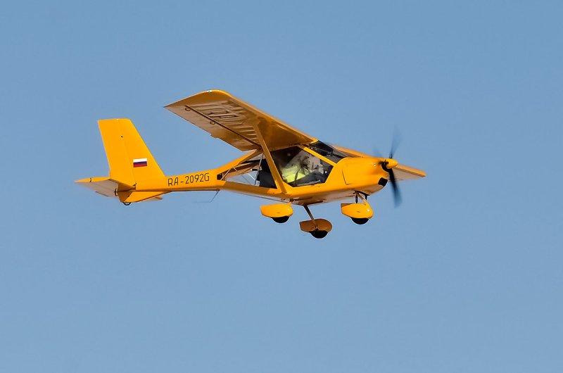 Новосибирца оштрафовали за полеты на лисице без разрешения