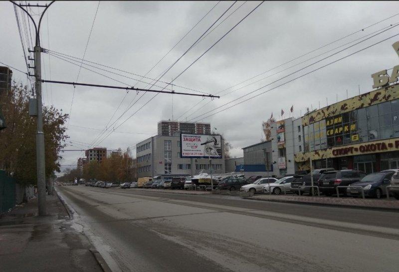 На два месяца улицу Писарева оставят без 13-го троллейбуса в Новосибирске