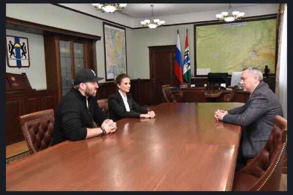 Андрей Травников и Александр Овечкин обсудили развитие спорта в регионе