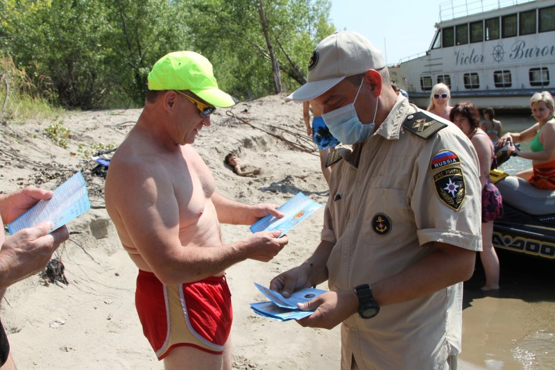 Около 100 нарушителей за неделю поймали сотрудники МЧС на воде