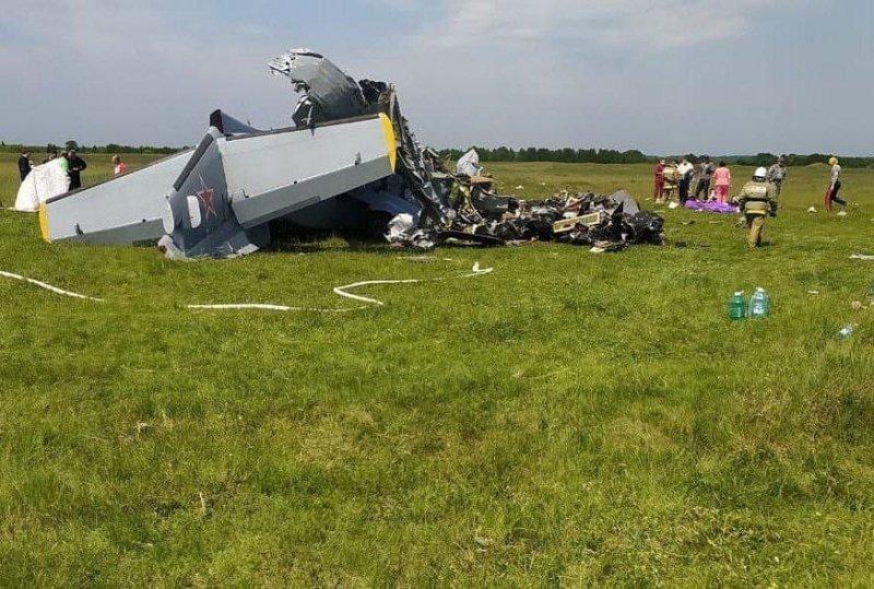 На границе с Новосибирской областью в Кузбассе разбился самолет: есть погибшие