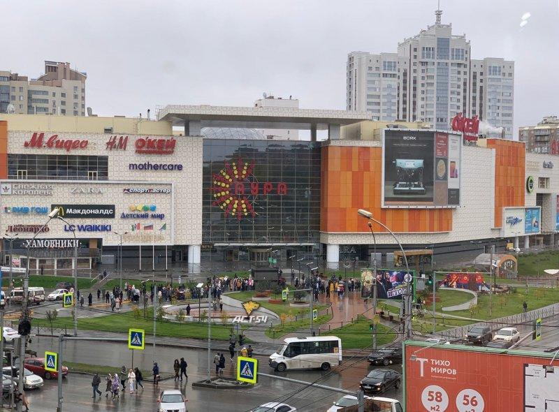 В Новосибирске эвакуировали посетителей трех ТЦ утром 26 сентября