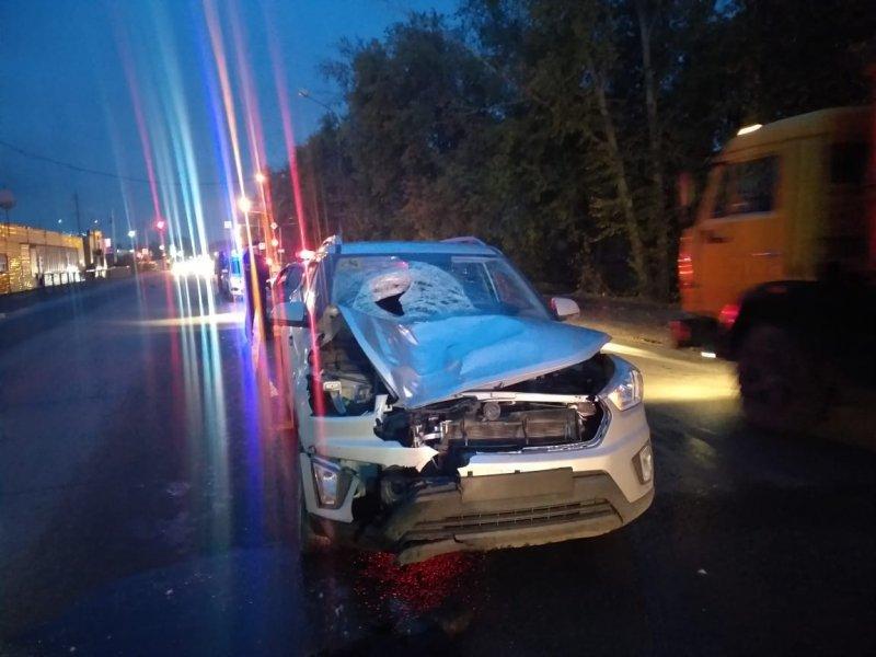 Новосибирский водитель насмерть сбил пешехода на Хилокской