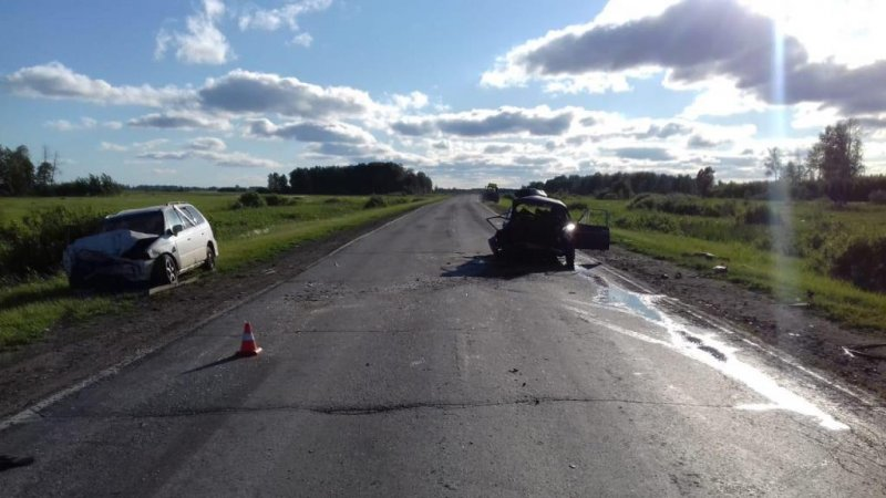 Пенсионер погиб в аварии на трассе в Кочковском районе