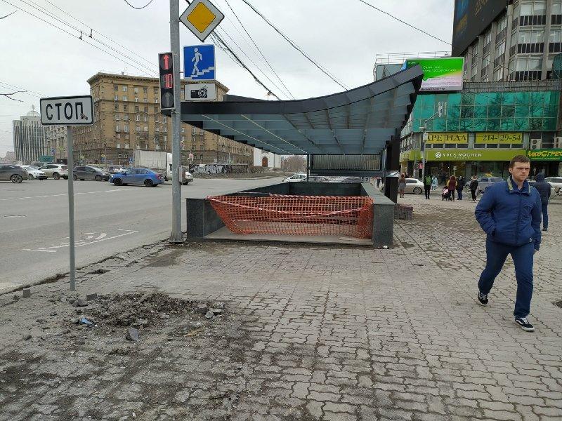 Очередную дату открытия подземных переходов в центре Новосибирска назвали в мэрии
