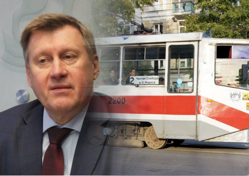 Локоть оставил Новосибирск без новых автобусов и трамваев