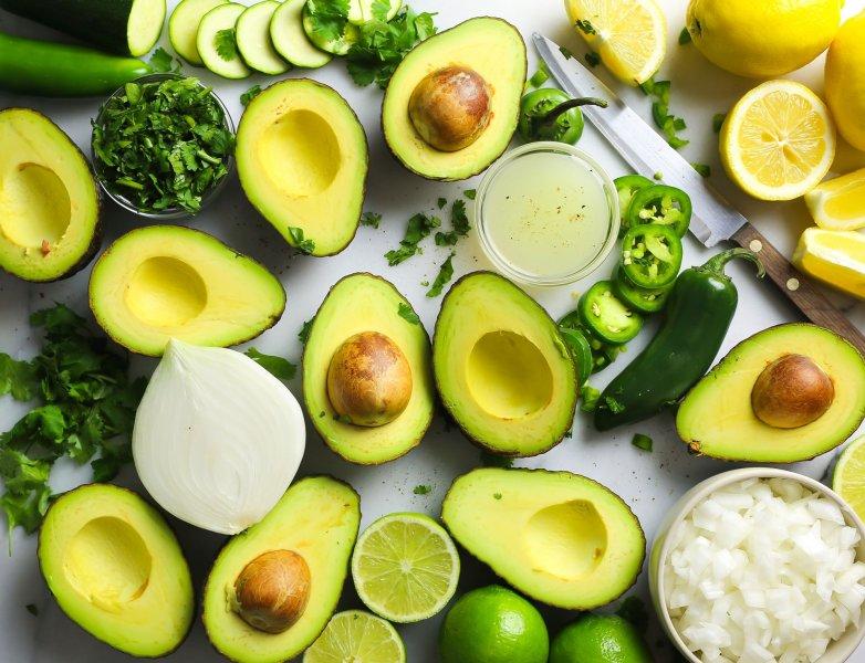 Авокадо, как символ здорового образа жизни