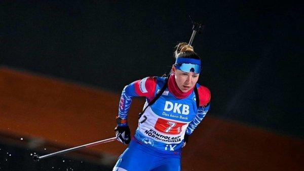 Новосибирская биатлонистка Евгения Павлова победила в традиционной «Рождественской гонке» в Германии