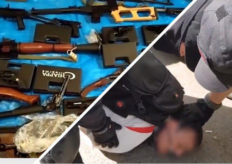 «Одна из 13 по всей стране»: в ФСБ рассказали об изъятом в мастерской  под Новосибирском арсенале оружия