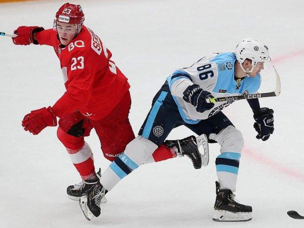 «Сибирь» на последних секундах овертайма вырвала победу у «Спартака»