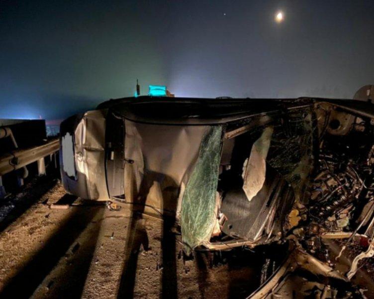 43-летний водитель иномарки погиб в ДТП под Новосибирском