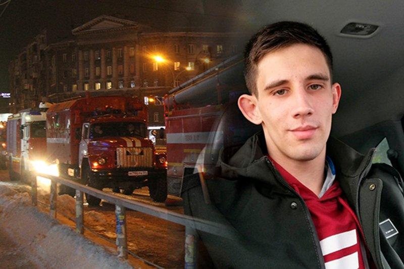 Молодой мужчина вынес из огня соседа-инвалида в Бердске