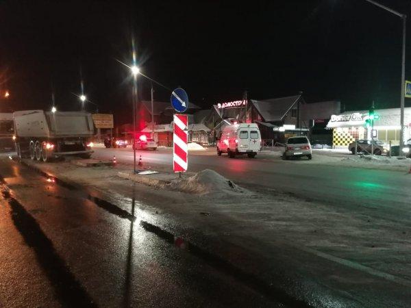 Водитель универсала погиб в ДТП с «КамАЗом» около Матвеевки