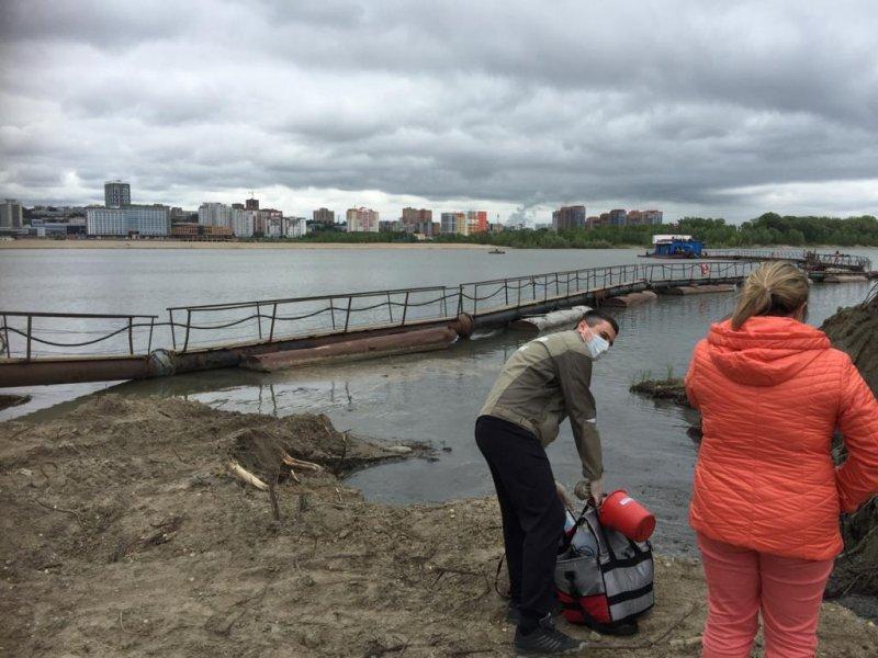 «Мэр объявил рекреационной зоной»: вся грязь и мусор со строительства ЛДС течет в Обь