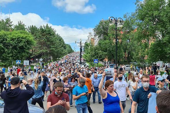 Власти Хабаровского края призвали жителей «к благоразумию»