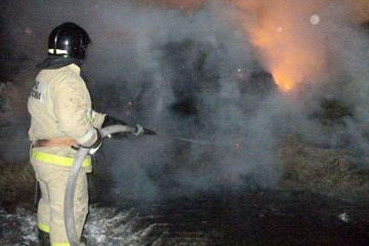 Пожар на Григоровича оставил без дома семью из трех человек