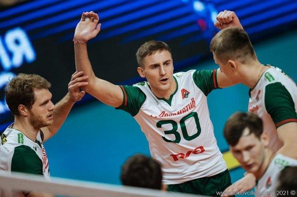 Волейболисты новосибирского «Локомотива» вышли в «Финал шести» чемпионата России
