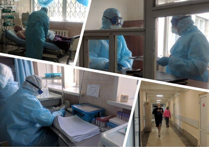 «Мы сами иногда боимся!»: Корреспондент Сибкрай.ru провел с врачами один день в зараженной коронавирусом зоне
