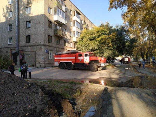 Новосибирец скончался после эвакуации из горящей квартиры