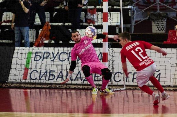 Мини-футбол: «Сибиряк» вышел в четвертьфинал плей-офф Высшей лиги