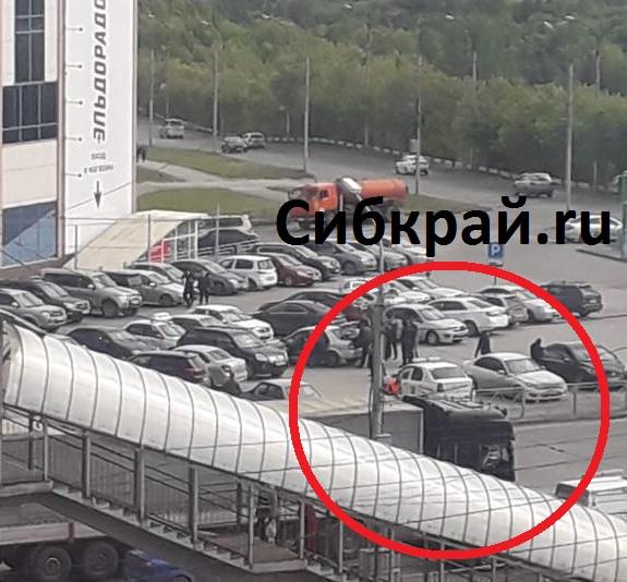 Очевидцы стали свидетелями перестрелки на Гусинобродском шоссе