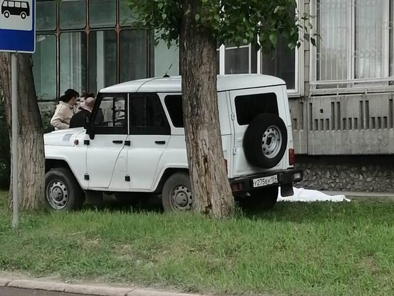 Пенсионерка выпала с пятого этажа в Бердске