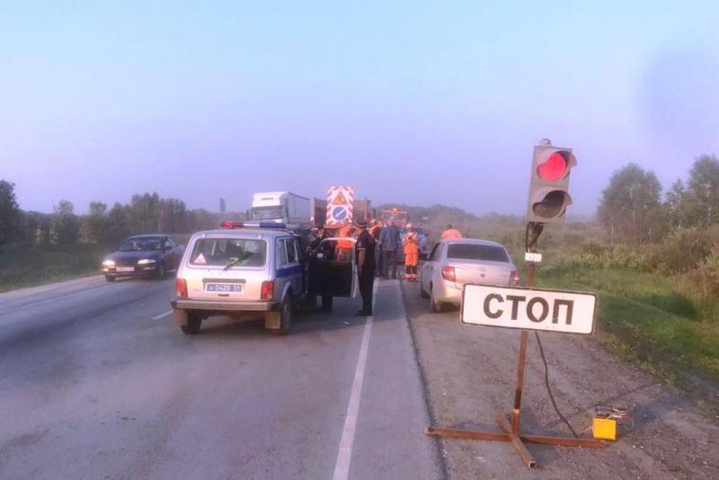 Москвич на «Ладе Калина» погиб в Убинском районе