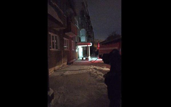 Хозяева квартиры и соседка пострадали на пожаре под Новосибирском