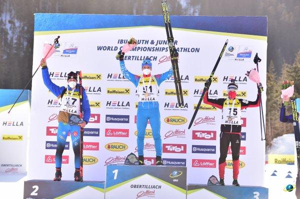 Золотую медаль в мировом биатлоне завоевал для Новосибирска Денис Иродов