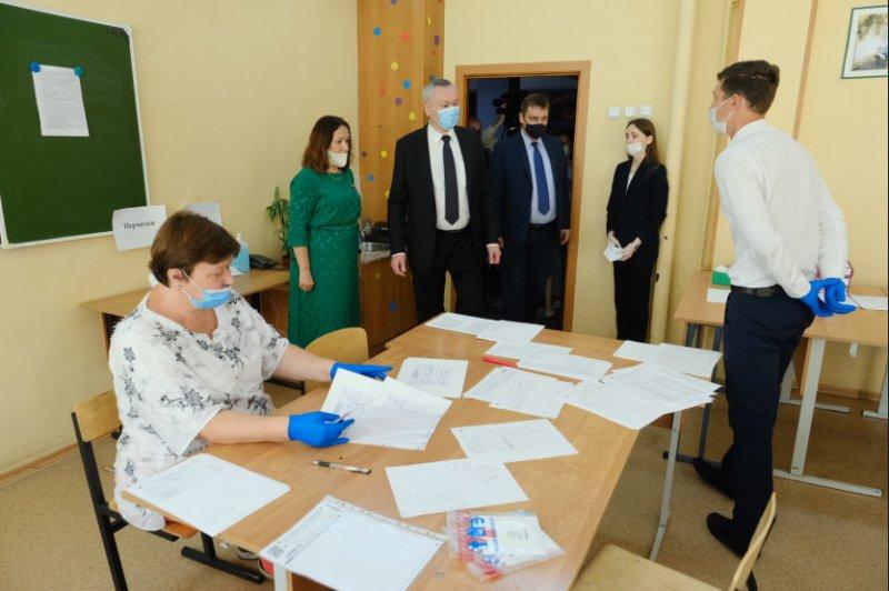 Все 107 пунктов сдачи ЕГЭ в Новосибирской области откроют для выпускников свои двери