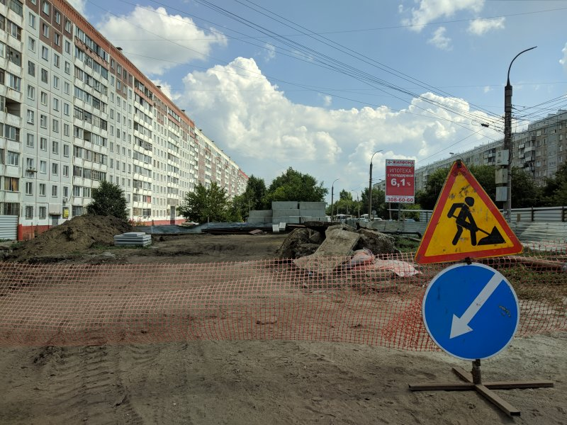 Мэр Локоть обещал «согреть» жителей Комсомольской спустя восемь месяцев после зимней ЧС
